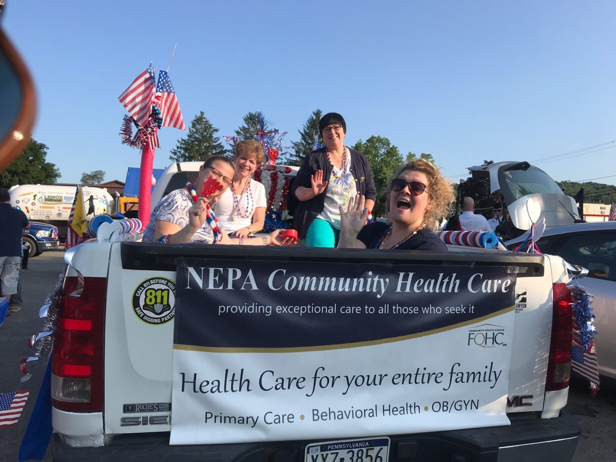 NEPA Community Health Care outreach